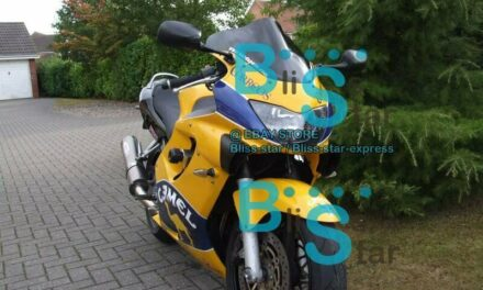 Yellow INJECTION Fairings + Tank Cover Full Fit  CBR600F4 1999-2000 35 B6