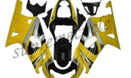 SC Yellow Injection Model Fairing Fit for Suzuki 2001-2003 GSXR 600/750 a077