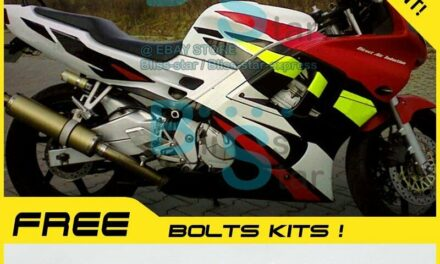 White INJECTION Fairings With Tank Cover Fit Kit  CBR600F3 1995-1996 41 B6