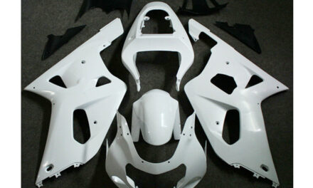 For GSXR600/750 2001-2003 ABS Injection Mold Bodywork Fairing Kit Unpainted