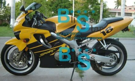 Yellow INJECTION Fairing + Tank Cover Fit HONDA CBR600F4 1999-2000 23 A7