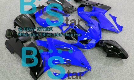 Blue Glossy INJECTION Fairing Fit Yamaha YZFR6 YZF-R6 99 00 01 1998-2002 53 A7