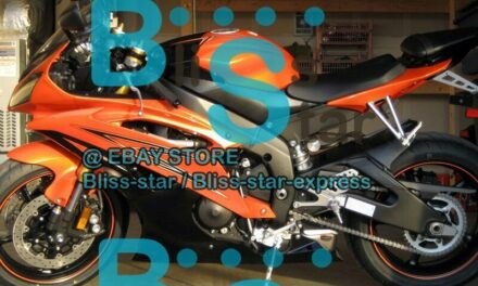 Orange Glossy INJECTION Fairing Fit Yamaha YZFR6 YZF-R6 99 00 01 1998-2002 32 A7