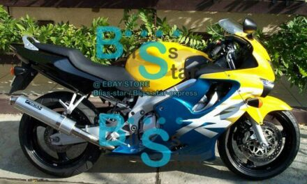 Yellow INJECTION Fairing + Tank Cover Fit HONDA CBR600F4 1999-2000 36 A7