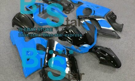 Blue Glossy INJECTION Fairing Fit Yamaha YZFR6 YZF-R6 99 00 01 1998-2002 04 A7