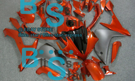 Orange INJECTION Fairing with Full Tank Fit Yamaha YZF-R1 2007-2008 010 A3