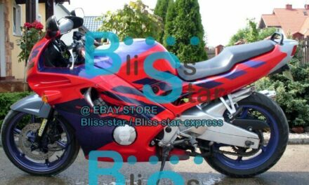 Red Glossy ABS Fairing With Tank Cover Kit Fit HONDA CBR600F2 1991-1994 53 A7