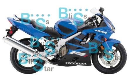 Blue INJECTION Fairing + Tank Cover Fit HONDA CBR600F4i 05 06 2004-2007 W1 A7