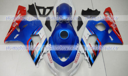 Fairing Blue White Red Full Injection Plastic Fit for Suzuki GSXR 600 750 04-05