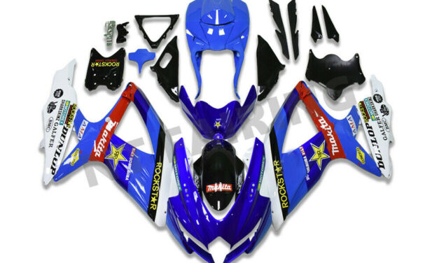 Injection Molding Blue Fairings Fit for GSXR 600 750 SUZUKI 2008-2010 a073