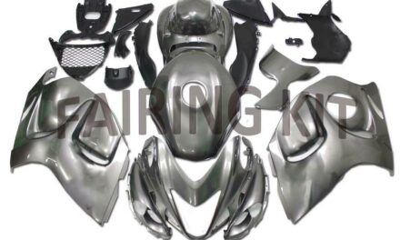FK Injection Mold Grey ABS Fairing Fit for Suzuki 2008-2020 GSXR 1300 a066