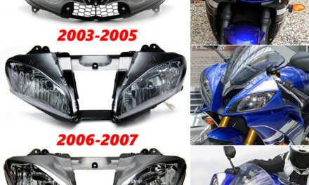 Front Headlight Assembly For Yamaha YZF R6 YZF-R6 2003-2005 2006-2007 2008-2016
