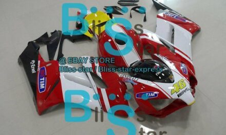Red White Glossy INJECTION Fairing Kit Set Fit Honda CBR1000RR 2004-2005 141 A1