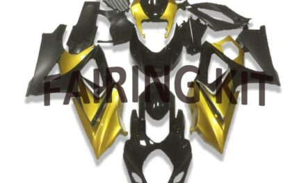 FK Injection Yellow Black ABS Fairing Fit for Suzuki 2007-2008 GSXR 1000 a049