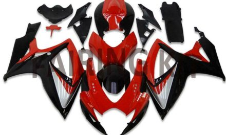 FK Injection Red Black ABS Fairing Fit for Suzuki 2006 2007 GSXR 600 750 a003