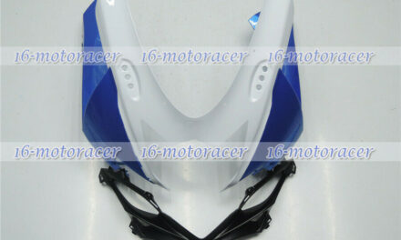 Front Nose Cowl Upper Fairing For GSXR 600/750 2011-2018 White Blue Black a#04