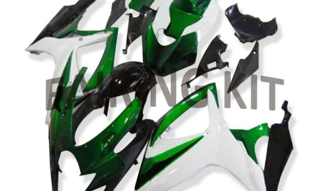 US Stock Injection Green  Fairing Fit for Suzuki 2006 2007 GSXR 600 750 a099