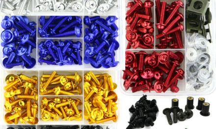 Complete Fairing Bolts Body Package Aftermarket Suitable For Suzuki AN400 AN250 AN650