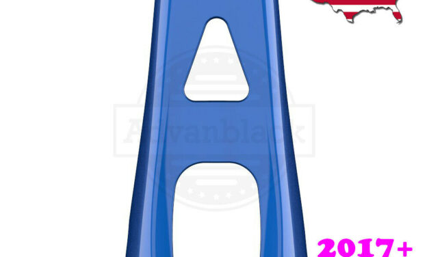 US Stock! Blue Max ABS Chin Spoiler for 2017+ Air-Cooled Harley Touring