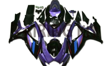 US Stock Injection Purple Fairing Fit for Suzuki 2006 2007 GSXR 600 750 a0111