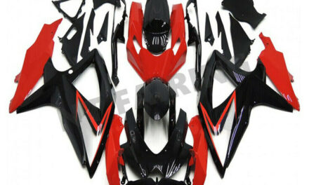 Injection Mold Red Plastic Fairing Fit for Suzuki 2008-2010 GSXR 600 750 a080