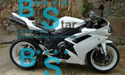 White INJECTION Fairing with Full Tank Fit Yamaha YZF-R1 2007-2008 039 A1
