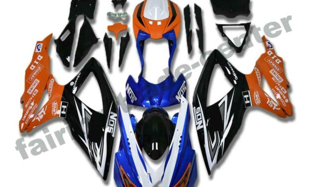 FTC Injection Molded Plastic Fairings Fit for GSXR 600 750 SUZUKI 2008-2010 a076
