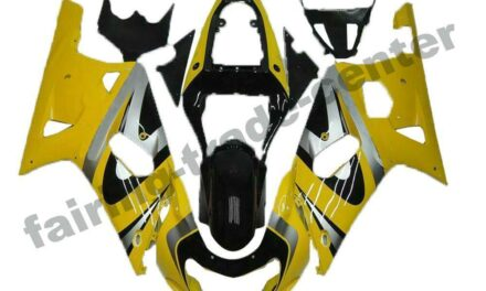 FTC Yellow Injection Model Fairing Fit for Suzuki 2001-2003 GSXR 600/750 a077