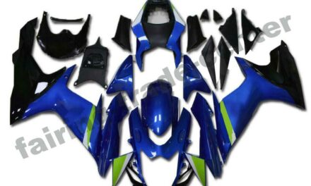 FTC Fairing Fit for SUZUKI 2011-2020 GSXR 600/750 Injection Blue Plastic a041