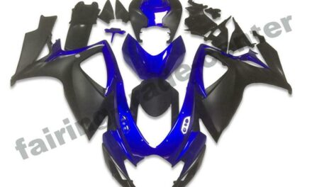 FTC Injection Mold Black Fairing Fit for Suzuki 2006 2007 GSXR 600 750 a0104