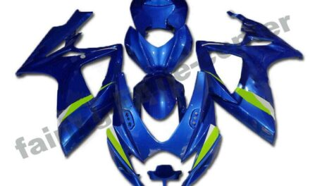 FTC Injection Blue Plastic Fairing Fit for Suzuki 2006 2007 GSXR 600 750 a007
