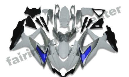FTC Injection White Plastic Fairing Fit for Suzuki  2008-2010 GSXR 600/750 a003