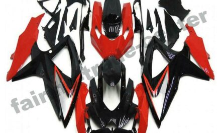 FTC Injection Red Plastic Fairing Fit for Suzuki 2008-2010 GSXR 600 750 a080