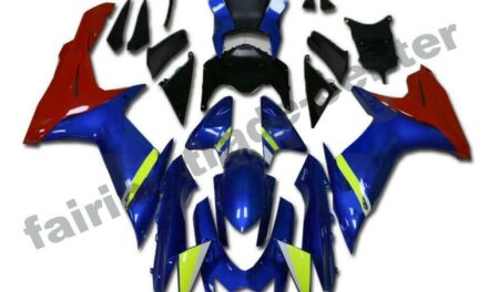 FTC Fairing Fit for SUZUKI 2011-2020 GSXR 600/750 Injection Mold Blue Red a044