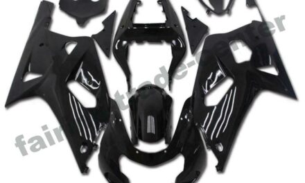 FTC Injection Mold Black ABS Fairing Fit for Suzuki 2001-2003 GSXR 600/750 a001