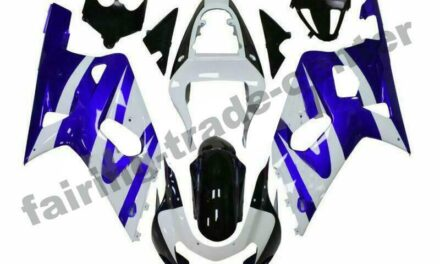 FTC Injection ABS Blue White Fairing Fit for Suzuki 2001-2003 GSXR 600/750 a015