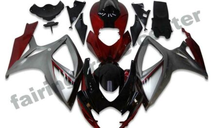 FTC Injection Red Silver Fairing Kit Fit for Suzuki 2006 2007 GSXR 600 750 a006