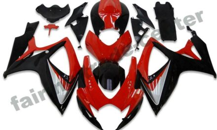 FTC Injection Red Black Fairing Kit Fit for Suzuki 2006 2007 GSXR 600 750 a003