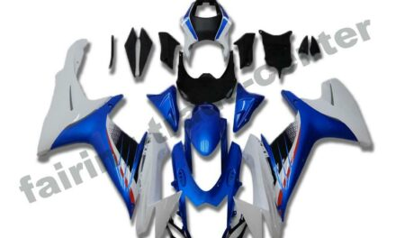 FTC Injection Blue White Fairing Kit Fit for 2011-2020 Suzuki GSXR 600/750 a001