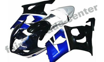FTC Injection Blue Plastic Fairing Fit for 2003-2004 Suzuki GSXR 1000 a033
