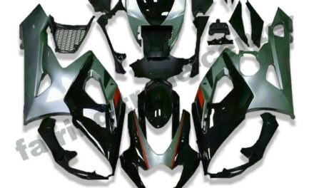 FTC Injection Kit Grey Black ABS Fairing Fit for Suzuki 2005-2006 GSXR 1000 a003