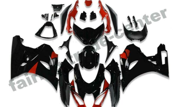 FTC Plastic Injection Red Fairing Fit for Suzuki K17 2017-2019 GSXR 1000 a007