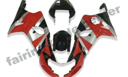 FTC Plastic Injection Red ABS Fairing Fit for 2000-2002 Suzuki GSXR 1000 a015