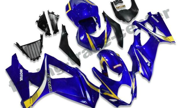 FTC Injection Mold Blue ABS Fairing Fit for Suzuki 2007-2008 GSXR 1000 a070