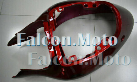 New Pearl Red Injection Rear Tail Cowl Fairing Fit for 1997-2007 GSXR 1300 aAN
