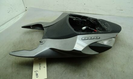 18 SUZUKI GSXR 600 COMPLETE TAIL FAIRING WITH TAIILIGHT AND SIGNALS E-1392