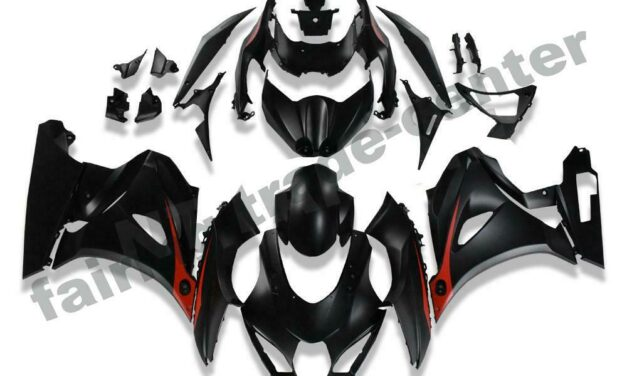 FTC Injection Molding Black Fairing Fit for Suzuki K17 2017-2019 GSXR 1000 a004