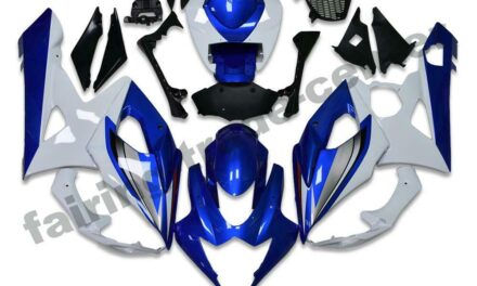 FTC Injection Moled Blue White Fairing Fit for Suzuki 2005-2006 GSXR 1000 a054