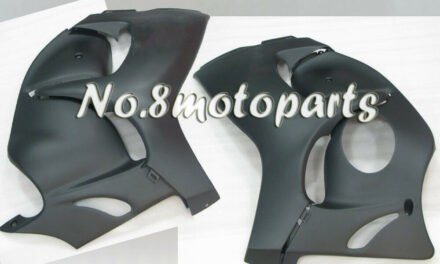 Fit for 2008-2018 GSX-R 1300 Matte Black Injection Left Right Side Fairings a06