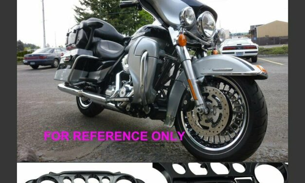Brilliant Silver Batwing Inner Speedometer Fairing for Harley Street Electra 14+